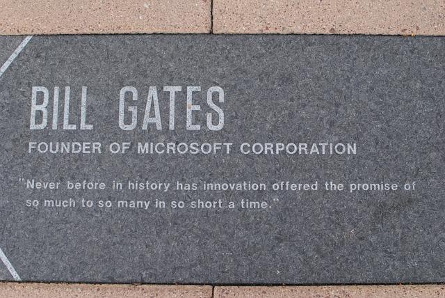 The Microsoft building in Boston